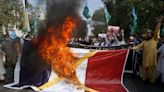 As Anger Rises, Muslims Protest French Cartoons