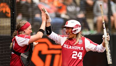When, where, how to watch No. 1 Oklahoma softball in the Big 12 tournament on Friday