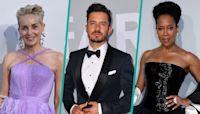 Sharon Stone, Orlando Bloom, Regina King & More Stun At Cannes 2021 amfAR Gala
