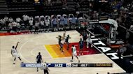 Jarrell Brantley with a buzzer beater vs the Memphis Grizzlies