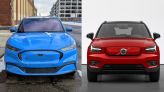 2021 Ford Mustang Mach-E, Volvo XC40 Recharge score high in IIHS tests