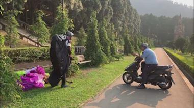 飛行傘玩家迫降園區內 九族憂危及遊客安全 | 蘋果新聞網 | 蘋果日報