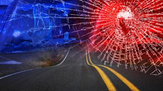 Motorcycle, car crash sends one to hospital with severe injuries