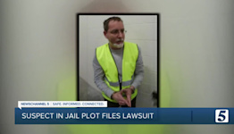 Man accused of planting guns in new Davidson County jail sues state