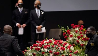 'I wish he was here with us': Andrew Brown Jr.'s sons express their love for their father during emotional funeral service in North Carolina
