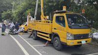 移除樹枝防颱 烏來台電人員不慎遭電擊
