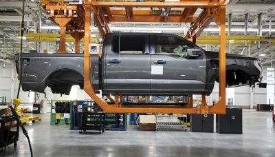 Ford boosts spending to increase production capacity of its F-150 Lightning electric truck
