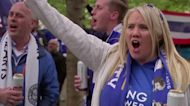 Fans return to English soccer's showpiece event