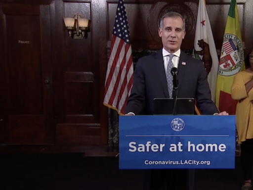 """Los Angeles Mayor Eric Garcetti Sounds Urgent Covid-19 Alarm: """"It's Time To Cancel Everything"""""""
