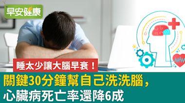 長期睡太少等於喝酒上班,甚至影響荷爾蒙分泌!藉由30分鐘午睡改善腦部機能