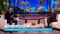 Ellen DeGeneres Gives Luke Bryan a Beer After He Says COVID Bout Was His 'Longest Stint' Without One