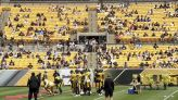Mike Tomlin, Steelers 'energized' by return of fans for training camp at Heinz Field