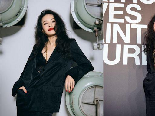 舒淇慵懶造型一展80年代港風美人風範 網友激讚:這女人太神了