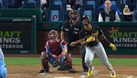 Ke'Bryan Hayes' three-run homer