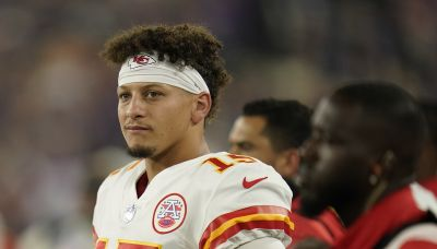 Patrick Mahomes says brother shouldn't have poured water on Ravens fan, but alludes to 'things said'