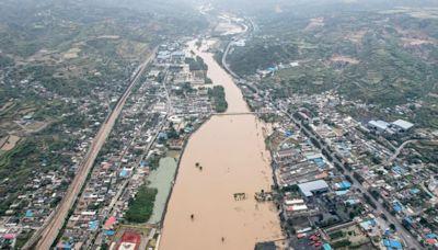 山西強降雨破歷史極值 受災面積或超河南