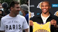 The Rush: Messi makes waves with PSG, Westbrook makes it L.A. official