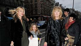 Lila Grace Moss in Kate Moss Spends UK Mother's Day With Her Family
