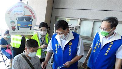 南投縣65歲以上長者第二劑AZ疫苗開打