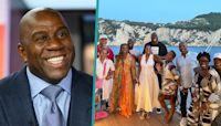 Magic Johnson Brings Samuel L. Jackson, LL Cool J & More Stars On Epic Italian Yacht Vacation