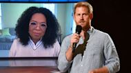 Oprah Praises Prince Harry Ahead of Their New Docuseries 'The Me You Can't See'