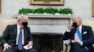 Biden meets with U.K. Prime Minister Johnson at White House