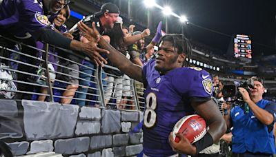 Ravens QB Lamar Jackson looking ahead at Lions, not back at Chiefs; RB Latavius Murray still learning teammates' names   NOTES
