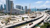 """""""It's a little messy."""" Work on a new I-395 span is totally changing downtown Miami."""
