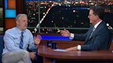 Jon Stewart Embraced the Lab-Leak Theory on The Late Show With Stephen Colbert. Was He Joking?
