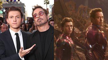 A complete timeline of Marvel costars Robert Downey Jr. and Tom Holland's friendship