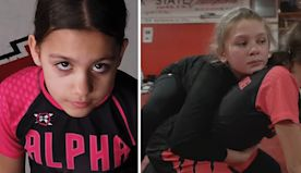 Dad Creates Wrestling Club For Girls After His Daughters Show Interest In The Sport