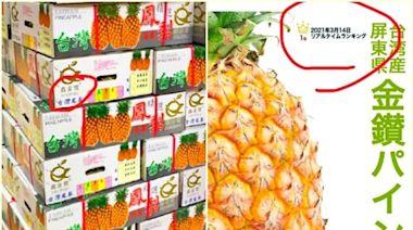 商家被指用陸菠蘿冒充台菠蘿 台農委會要求日方追查