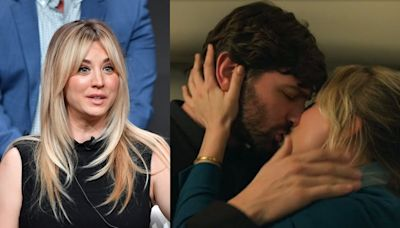 Kaley Cuoco said she'd never done a sex scene before 'The Flight Attendant': 'I'd be hovering over him like I was on a toilet'