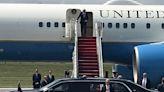 President Biden has landed in the Lehigh Valley ahead of Mack Trucks speech (PHOTOS)