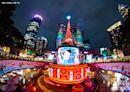 新北耶誕城主燈換新 奇幻篇迪士尼光雕秀