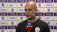 Pep: Man City learned 'good lesson' v. Brighton