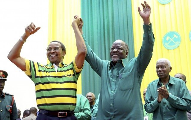 Tanzania ruling party names candidate for Oct. elections - Breitbart