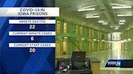 COVID-19 inmate death reported by Iowa Department of Corrections
