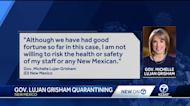 Gov. Lujan Grisham quarantining after possibly being exposed to COVID-19