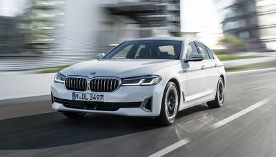 The BMW 5 Series Gets a Mid-Cycle Makeover, Adding Upgraded Electrified Powertrain Options