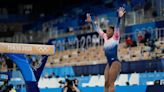 Simone Biles wins bronze on beam in return to Olympic competition