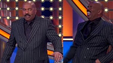 Steve Harvey Lost It and Threw His Card After Hearing a Recent 'Family Feud' Contestant's Answer