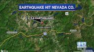 Small Earthquake Rattles Nevada County