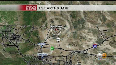 3.5-Magnitude Earthquake Hits Near Ridgecrest