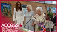 Queen Elizabeth Insists On Cutting Cake With Giant Ceremonial Sword: It's 'Unusual'