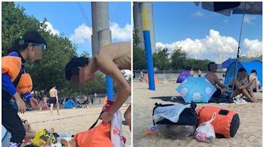 貓隻遭獨留逾30°C沙灘兼困貓袋 網民狠批主人謀殺