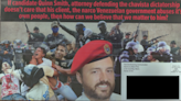 Joe Carollo Campaign Photoshops Opponent in Chavista Beret
