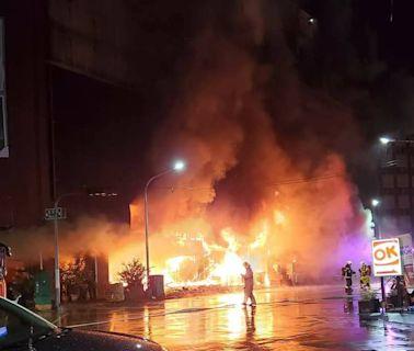 不斷更新》高雄城中城火警救出40人、8死、18人失聯 陳其邁出面說明