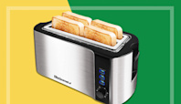 Thousands of Shoppers Love This $40 Four-Slice Toaster That Toasts Everything 'to Perfection'