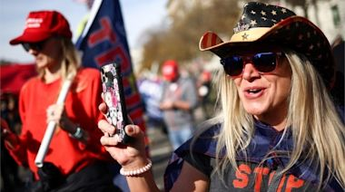 Million MAGA March: Thousands of pro-Trump protesters rally in Washington DC